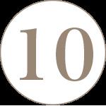 ナンバー10